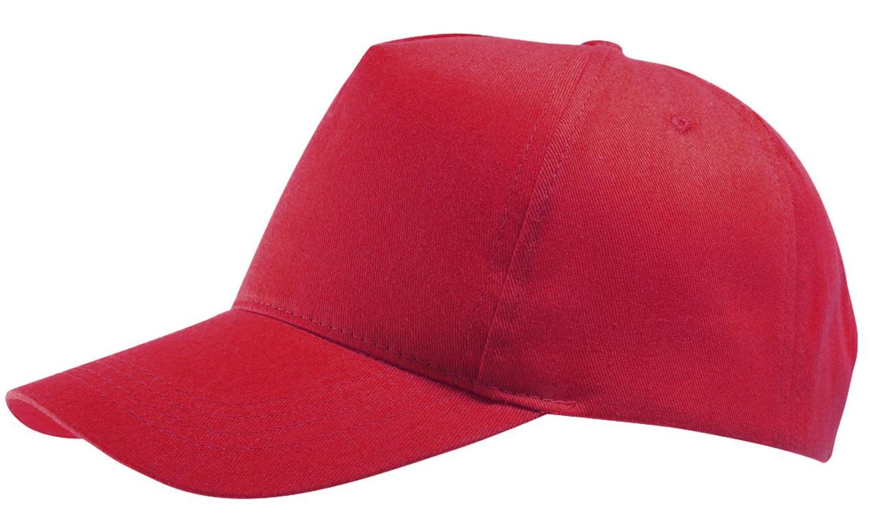 Бейсболка Buzz, красная (артикул 6536.50)