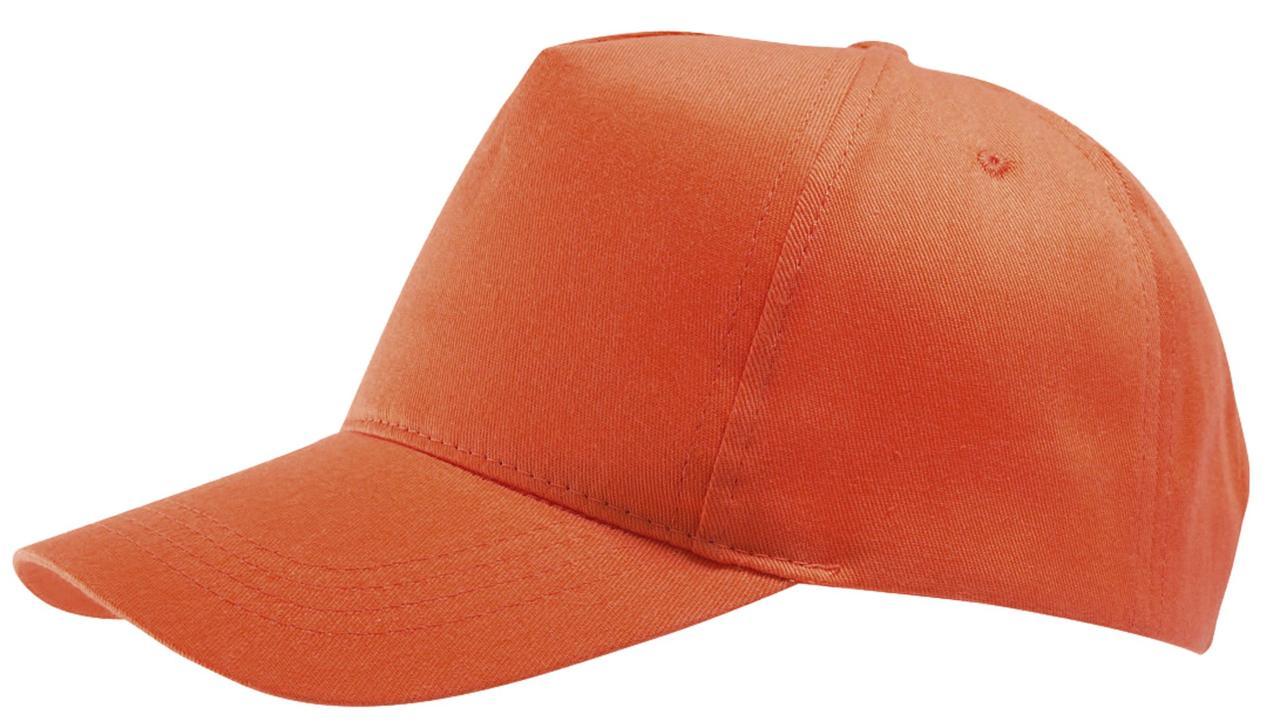 Бейсболка Buzz, оранжевая (артикул 6536.20)