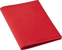 Обложка для автодокументов Twill, красная (артикул 6697.50)