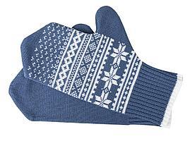 Варежки «Скандик», синие (индиго) (артикул 2209.40)