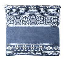 Подушка «Скандик», синяя (индиго) (артикул 2218.40)