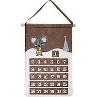 Адвент-календарь Noel, с мышкой (артикул 12811.03)