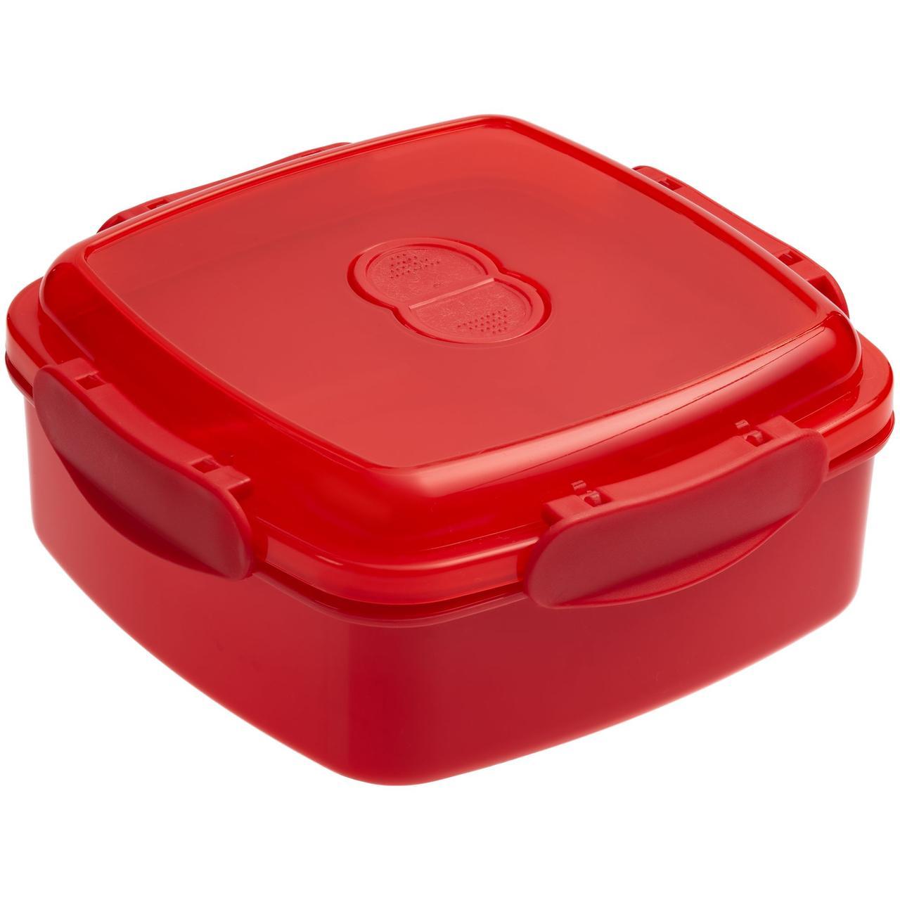 Ланчбокс Cube, красный (артикул 10172.50)