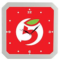 Часы настенные «Квадро», белые (артикул 5969.60)