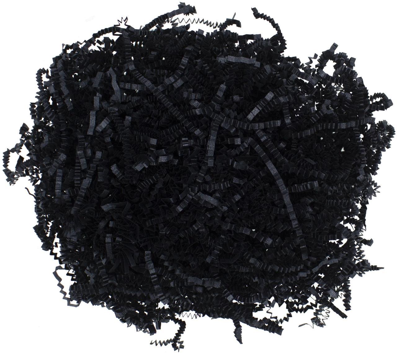 Бумажный наполнитель «Блеск», черный (артикул 12807.30)