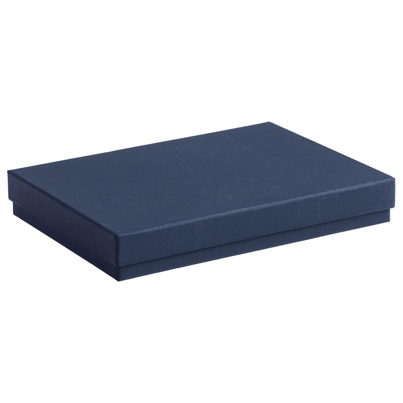 Коробка под ежедневник, синяя (артикул 4858.40)