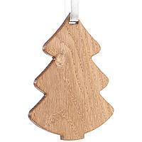 Деревянная подвеска Carving Oak, в форме елочки (артикул 12827.02)
