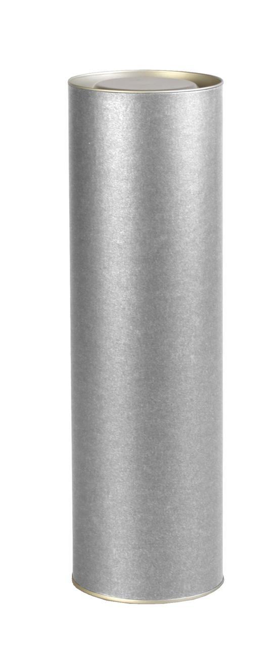 Тубус подарочный «Блеск», серебристый (артикул 5865.10)