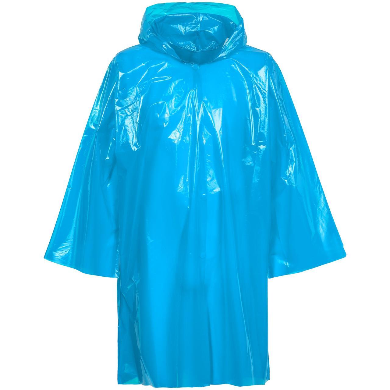 Дождевик-плащ CloudTime, голубой (артикул 11876.41)