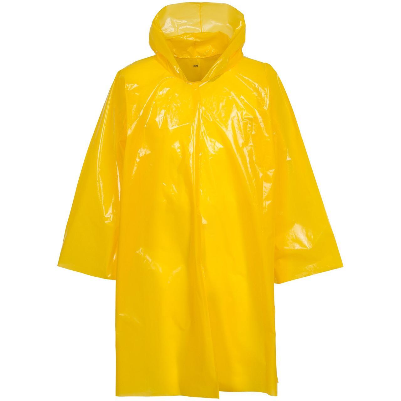 Дождевик-плащ CloudTime, желтый (артикул 11876.80)