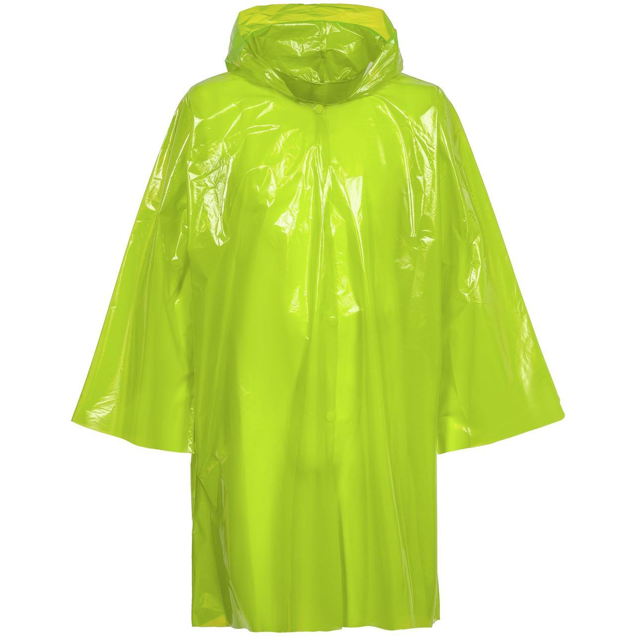 Дождевик-плащ CloudTime, зеленое яблоко (артикул 11876.94)