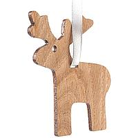 Деревянная подвеска Carving Oak, в форме лося (артикул 12827.01)
