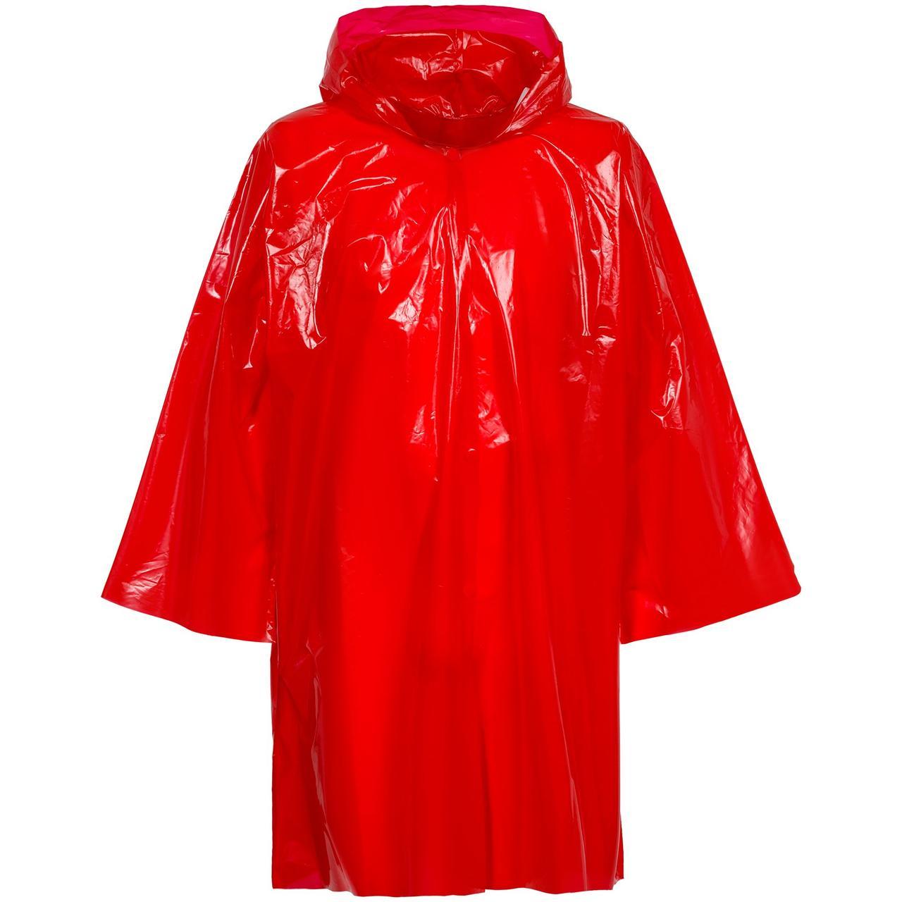 Дождевик-плащ CloudTime, красный (артикул 11876.50)