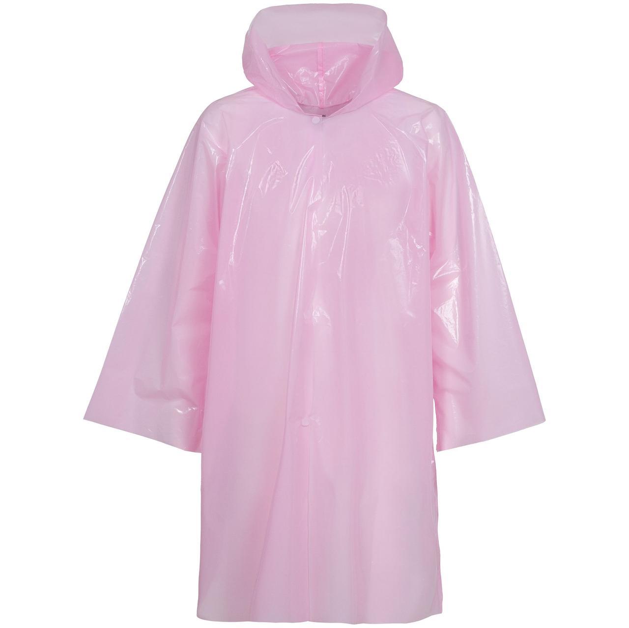 Дождевик-плащ CloudTime, розовый (артикул 11876.15)