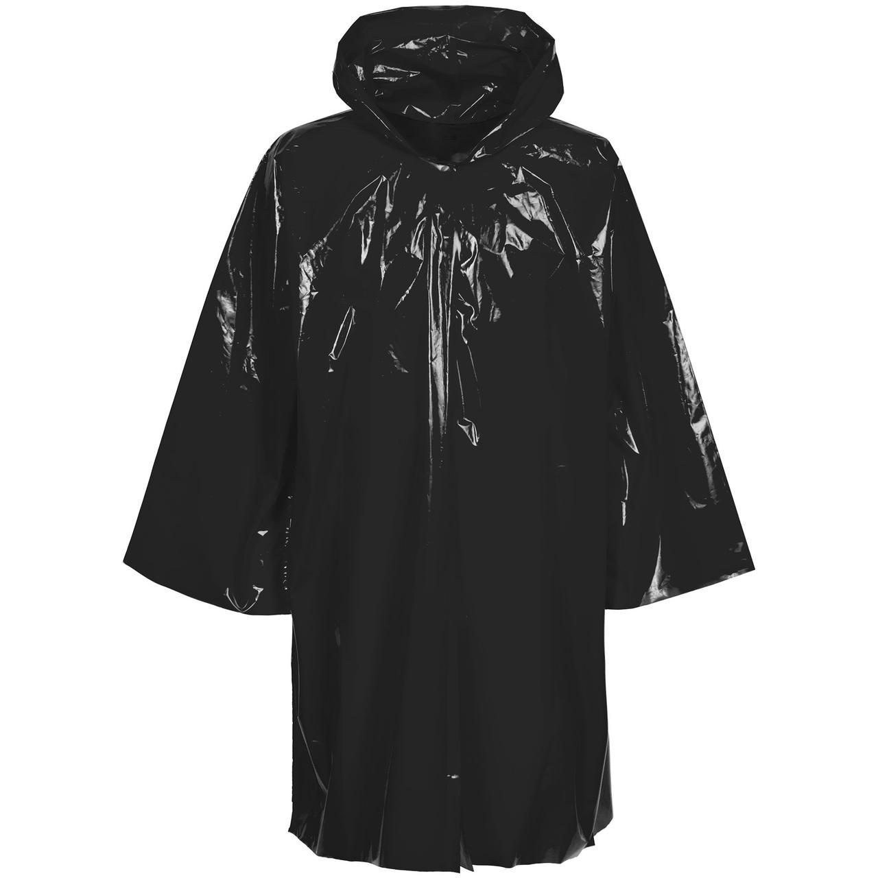 Дождевик-плащ CloudTime, черный (артикул 11876.30)