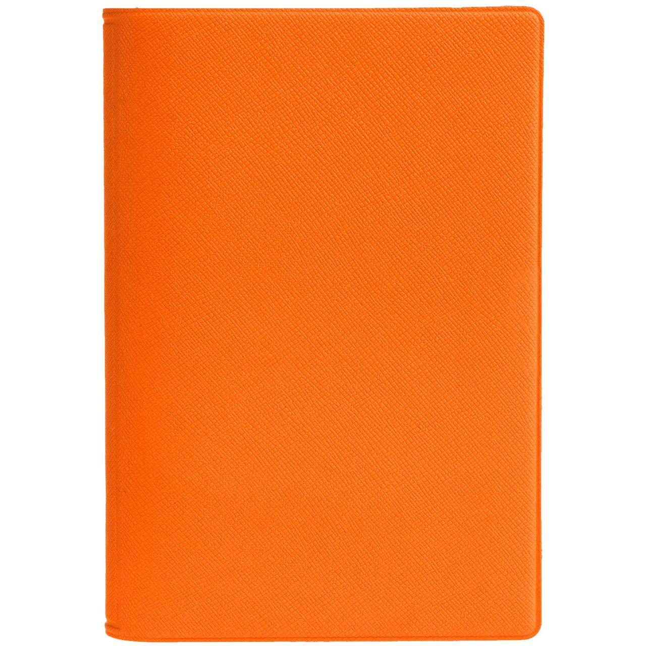 Обложка для паспорта Devon, оранжевая (артикул 10266.20)