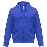 Толстовка мужская Hooded Full Zip ярко-синяя (артикул WM647450)