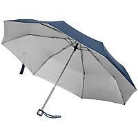 Зонт складной Silverlake, синий с серебристым (артикул 79135.40)