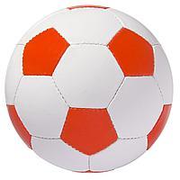 Мяч футбольный Street, бело-красный (артикул 6111.50)