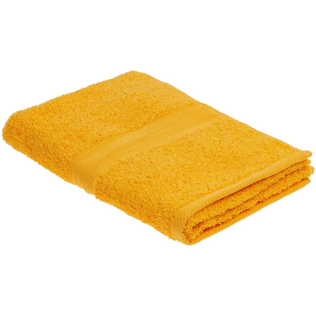 Полотенце Embrace, среднее, желтое (артикул 20099.80)