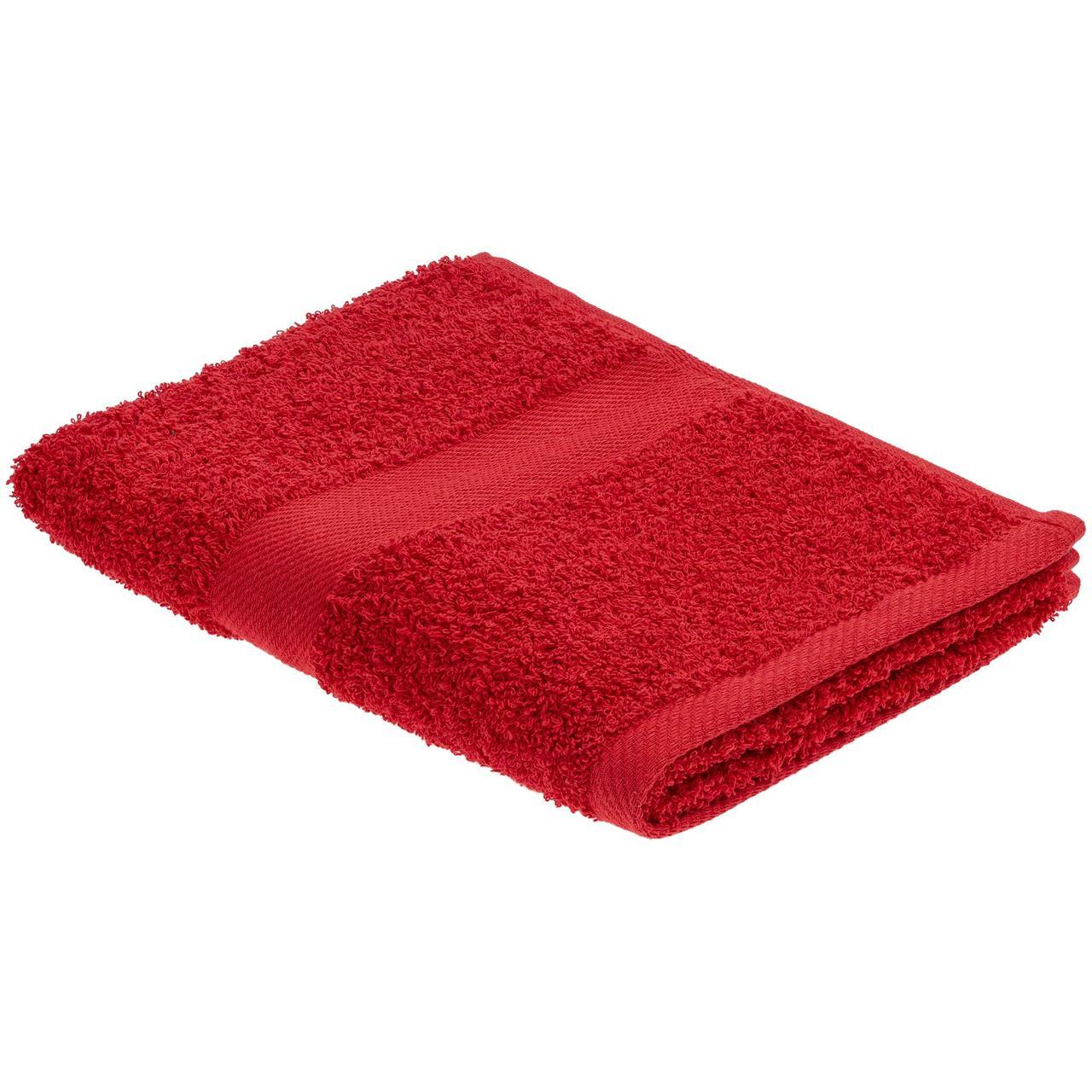 Полотенце Embrace, среднее, красное (артикул 20099.50)