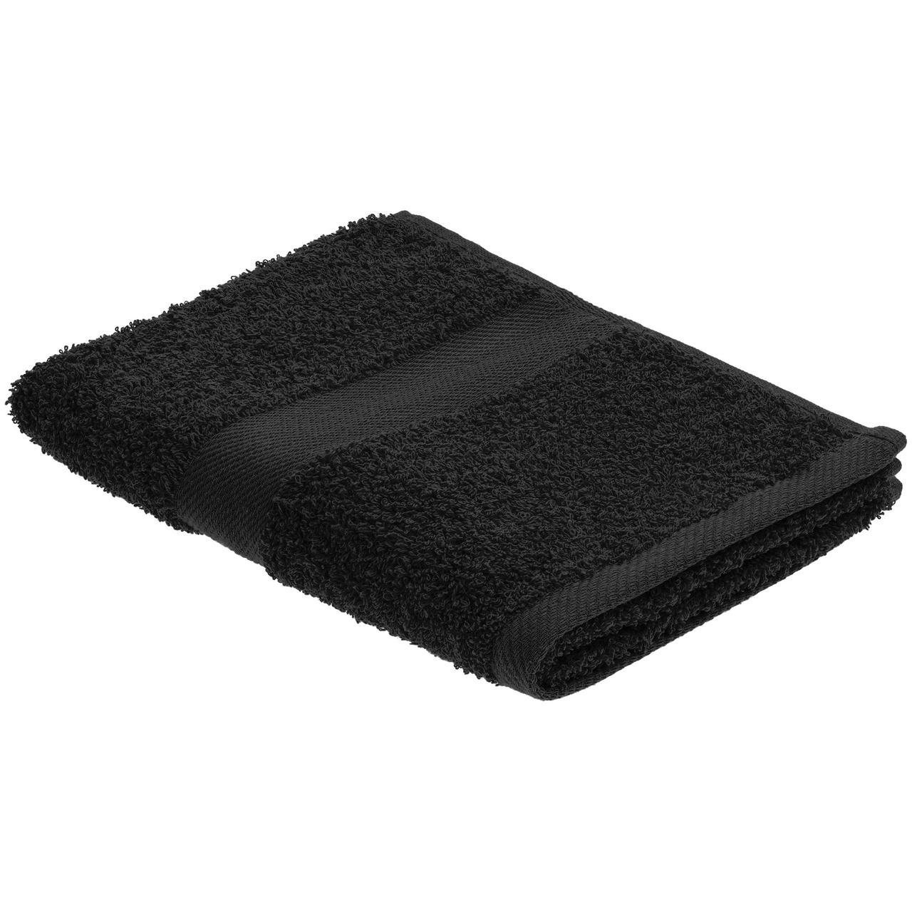 Полотенце Embrace, среднее, черное (артикул 20099.30)