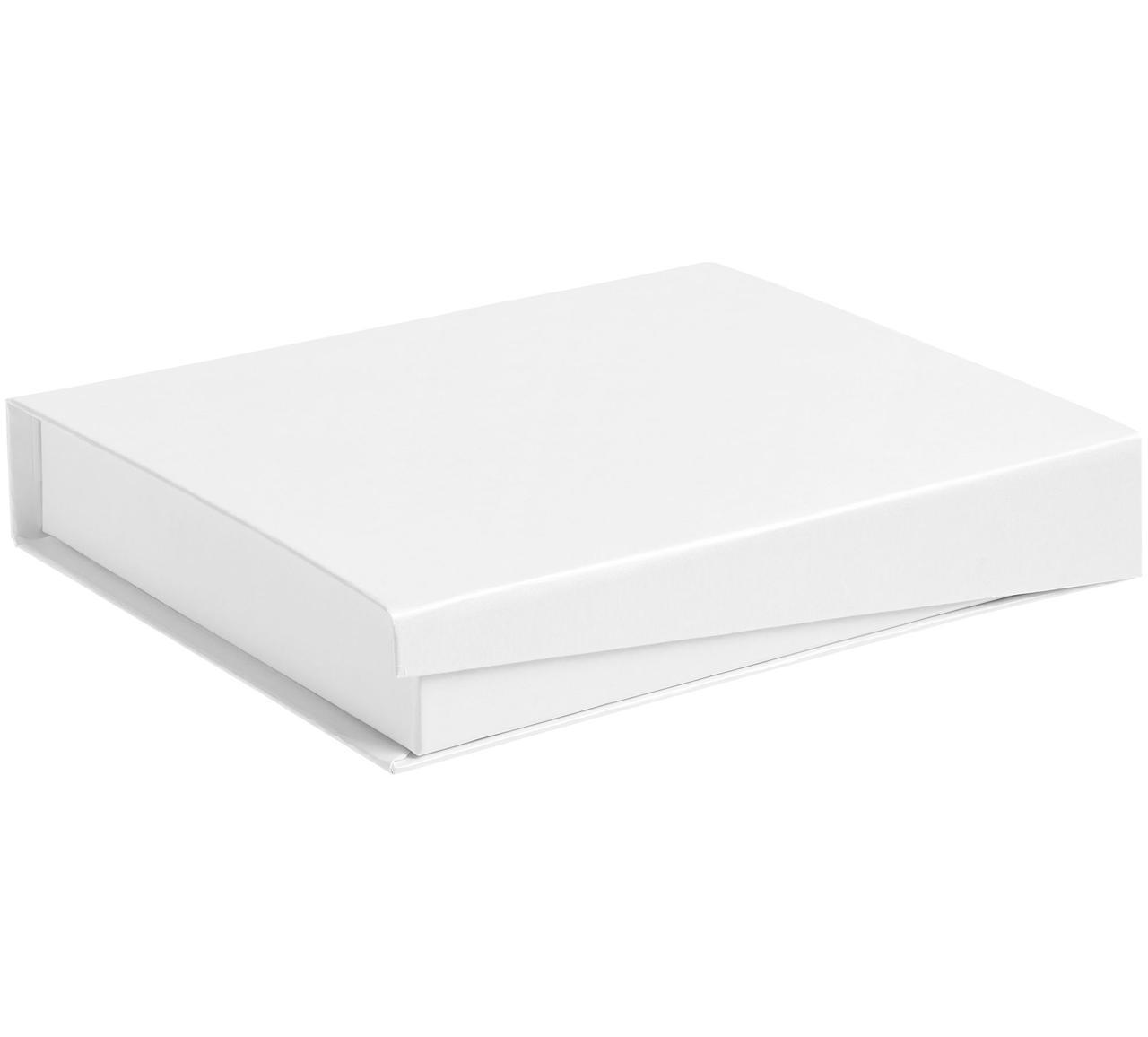 Коробка Duo под ежедневник и ручку, белая (артикул 1639.60)