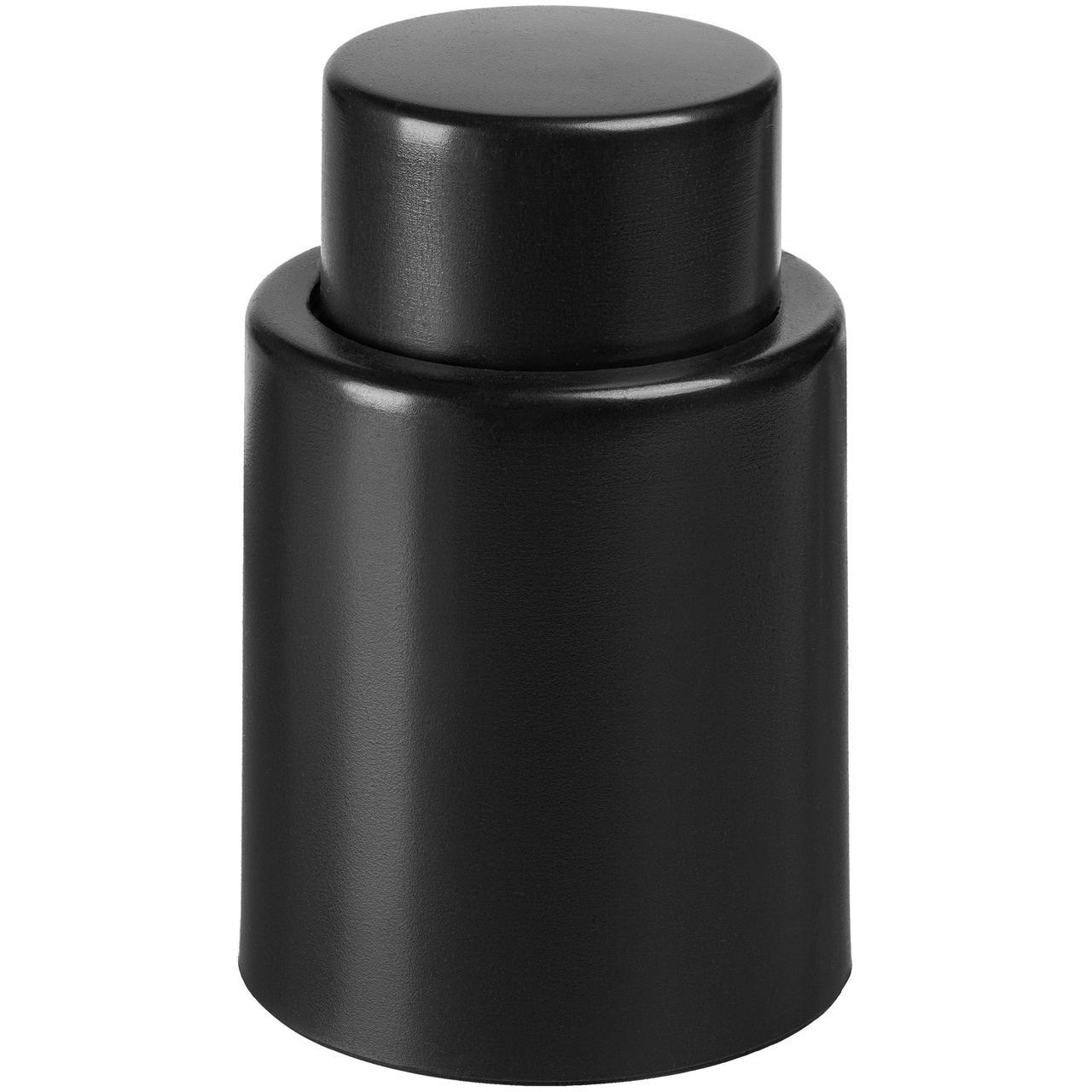 Пробка для бутылки Wine Keeper, вакуумная, черная (артикул 10367.30)