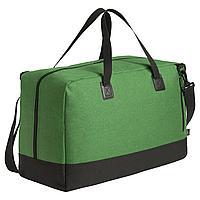 Сумка дорожная с отделением для ноутбука Unit Bimo Weekend, зеленая (артикул 6992.92)