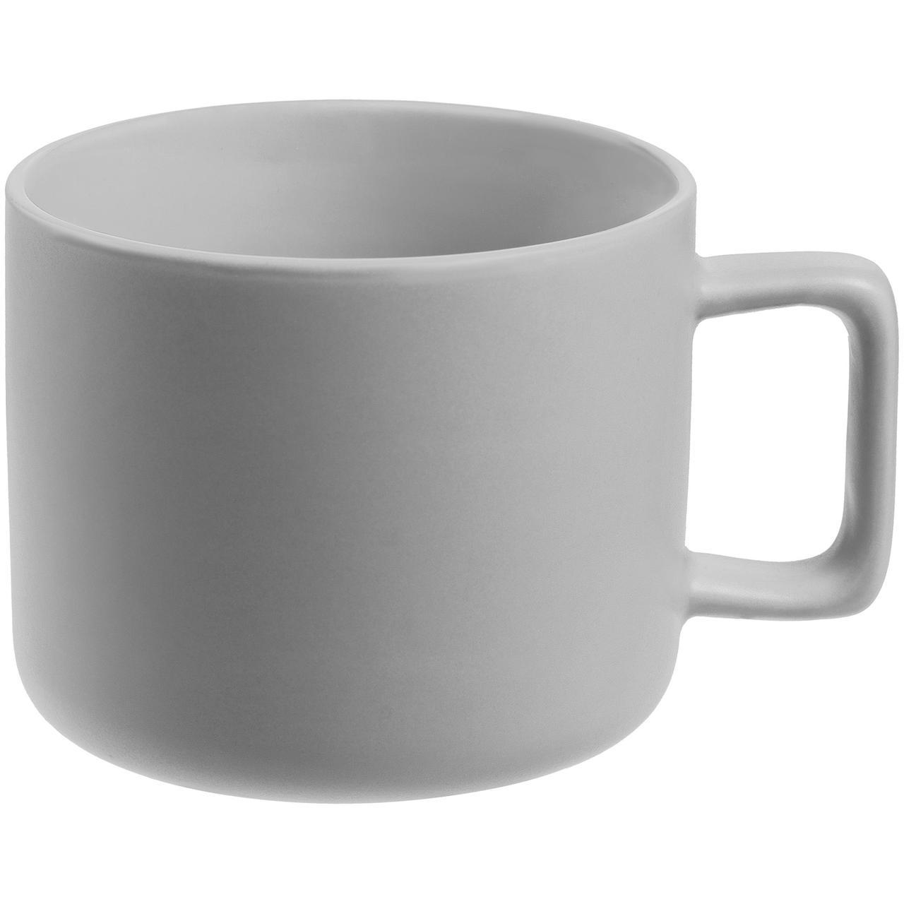 Чашка Jumbo, матовая, светло-серая (артикул 12917.10)