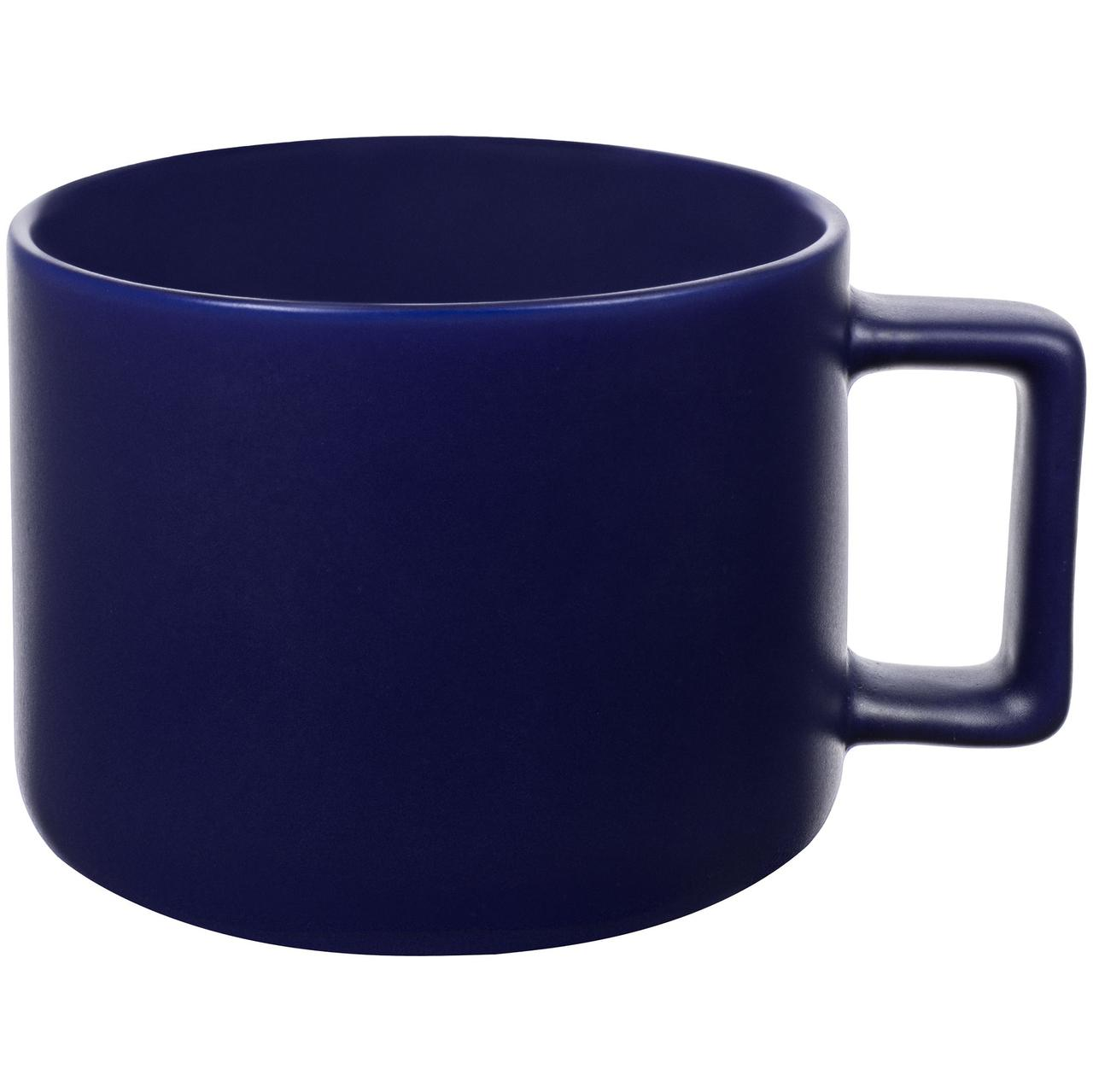 Чашка Jumbo, матовая, синяя (артикул 12917.40)