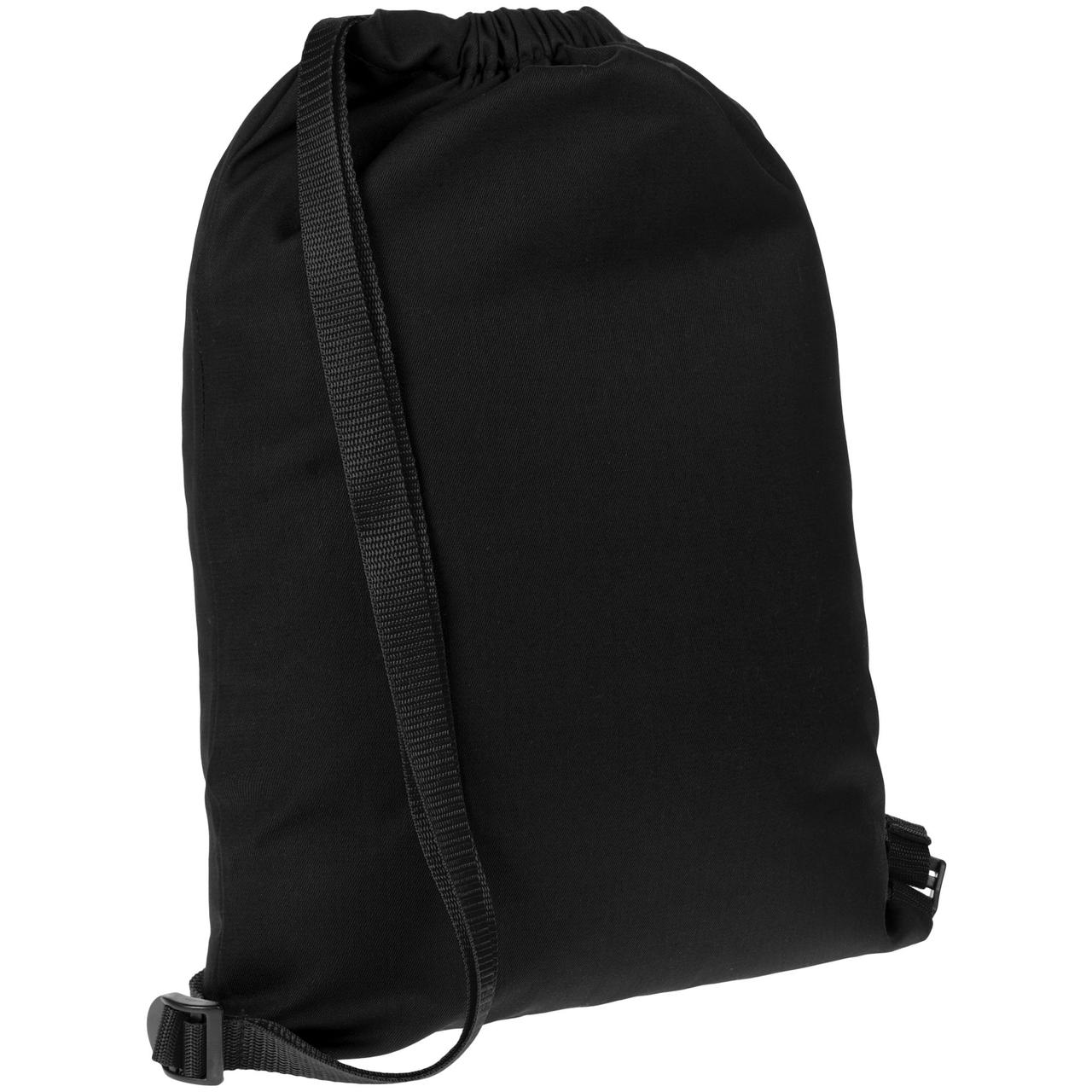 Рюкзак Nock, черный с черной стропой (артикул 12199.33)