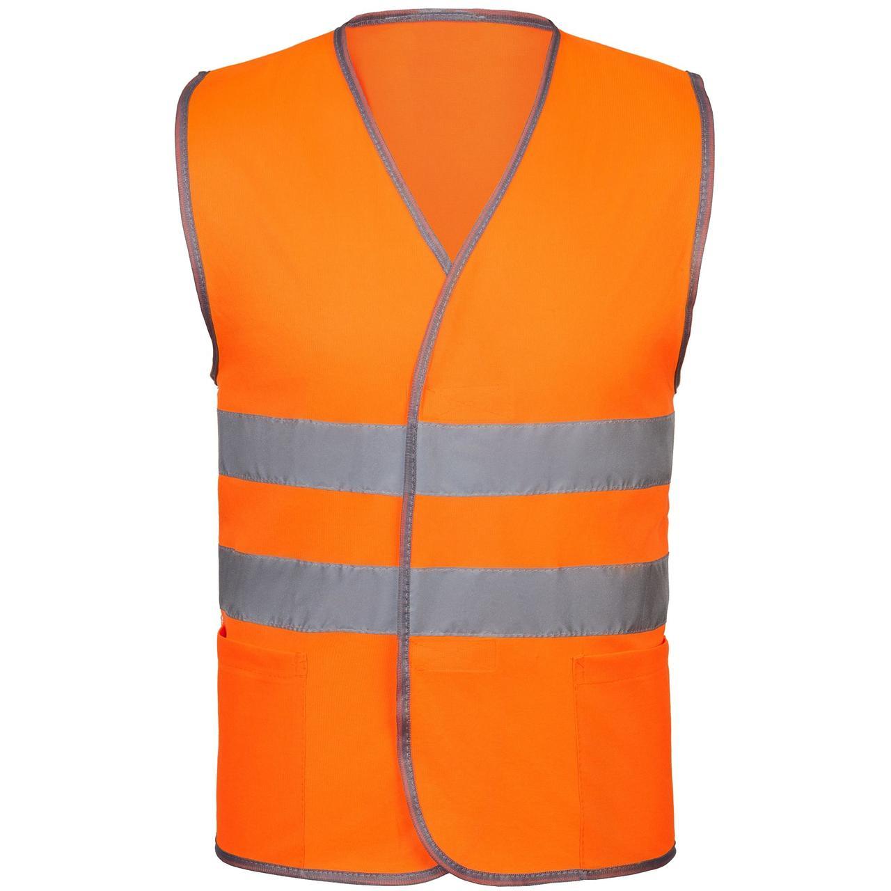 Жилет светоотражающий Reflector, оранжевый неон (артикул 7474.20)