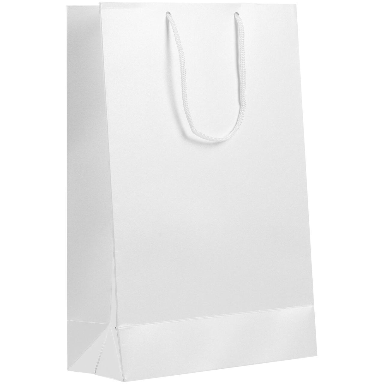 Пакет бумажный «Блеск», средний, белый (артикул 5867.60)