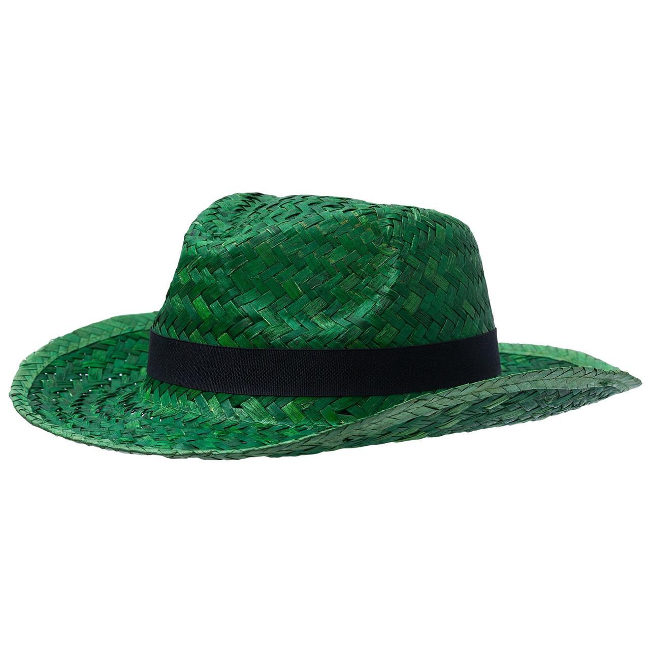 Шляпа Daydream, зеленая с черной лентой (артикул 6982.93)