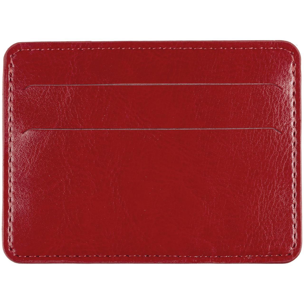 Чехол для карточек Nebraska, красный (артикул 12881.50)