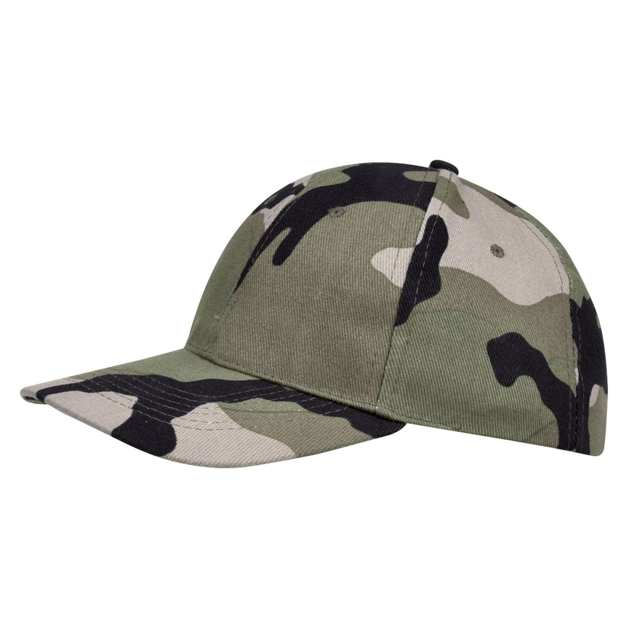 Бейсболка Buffalo зеленый камуфляж (артикул 6404.17)
