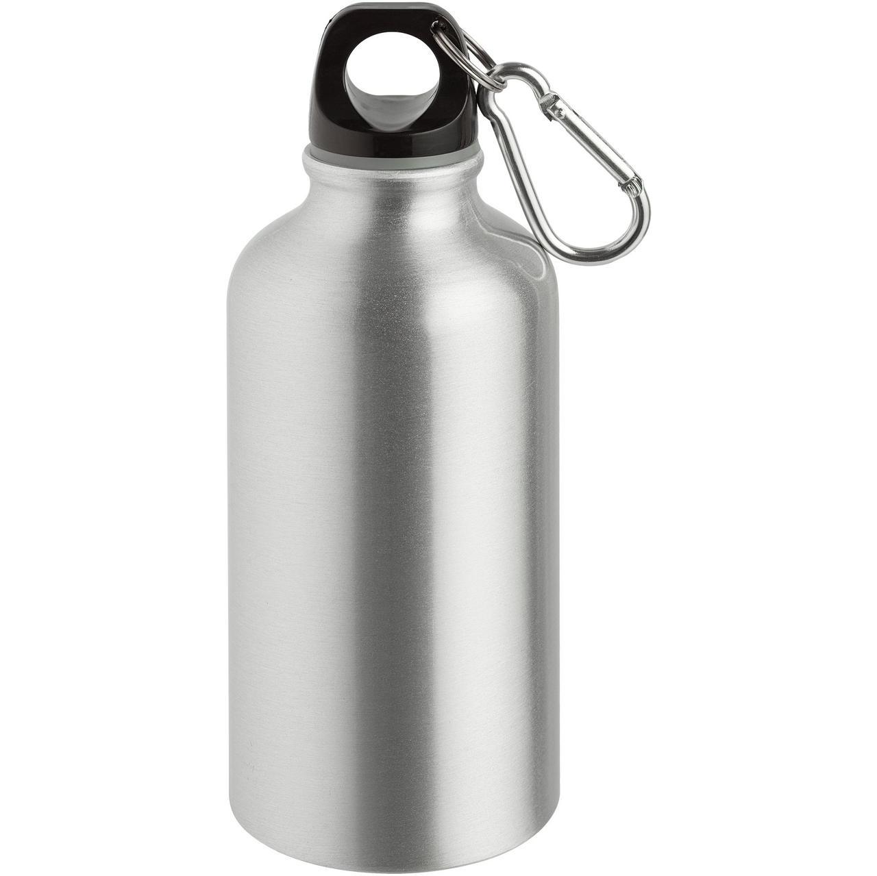 Бутылка для спорта Re-Source, серебристая (артикул 7504.10)