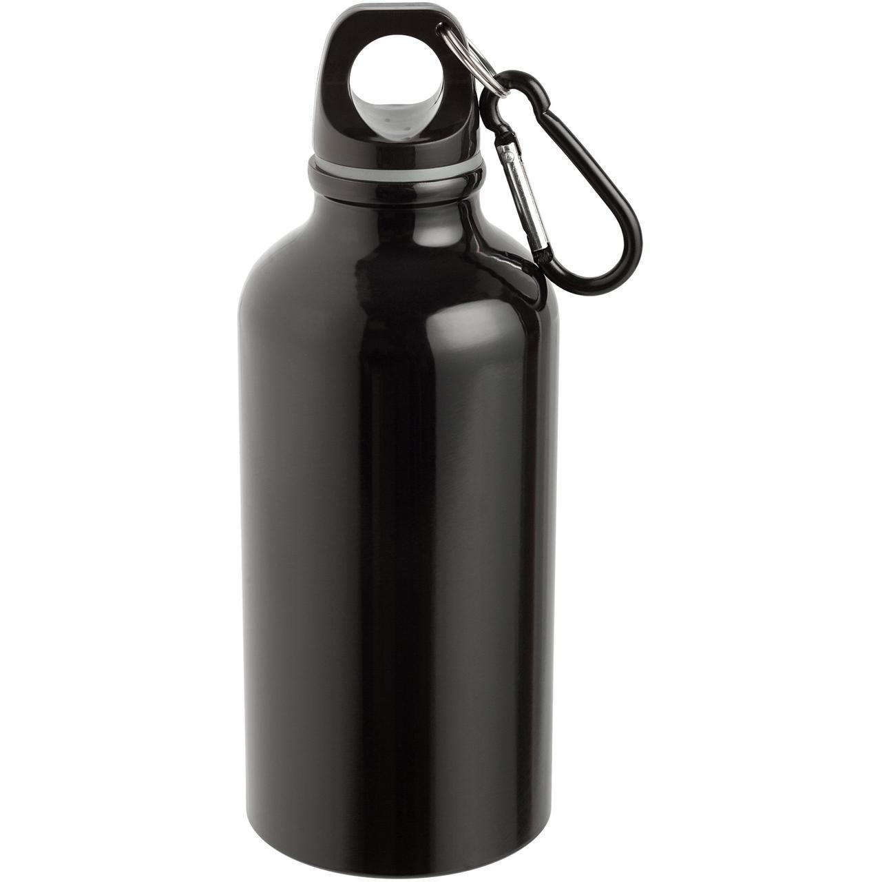 Бутылка для спорта Re-Source, черная (артикул 7504.30)