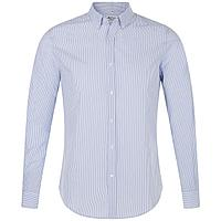 Рубашка мужская Beverly Men, белая с синим (артикул 01650504)