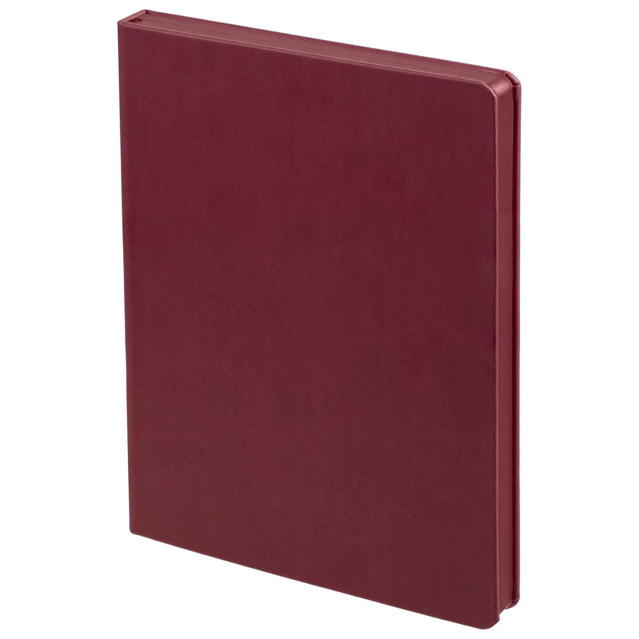 Ежедневник Brand Tone, недатированный, бордовый (артикул 17882.55)