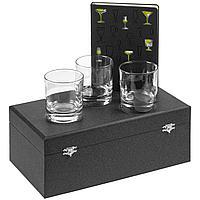 Набор «Культура пития», с бокалами для виски (артикул 10333.02)