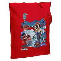 Холщовая сумка Ragazza Di Mare, красная (артикул 73561.50)