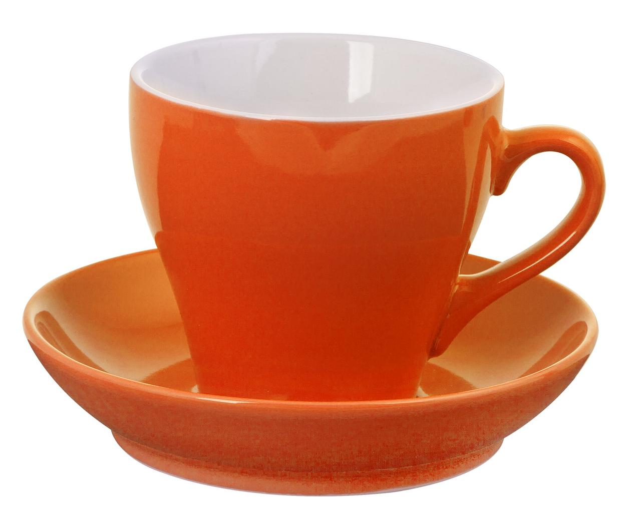 Чайная пара Tulip, оранжевая (артикул 6477.20)