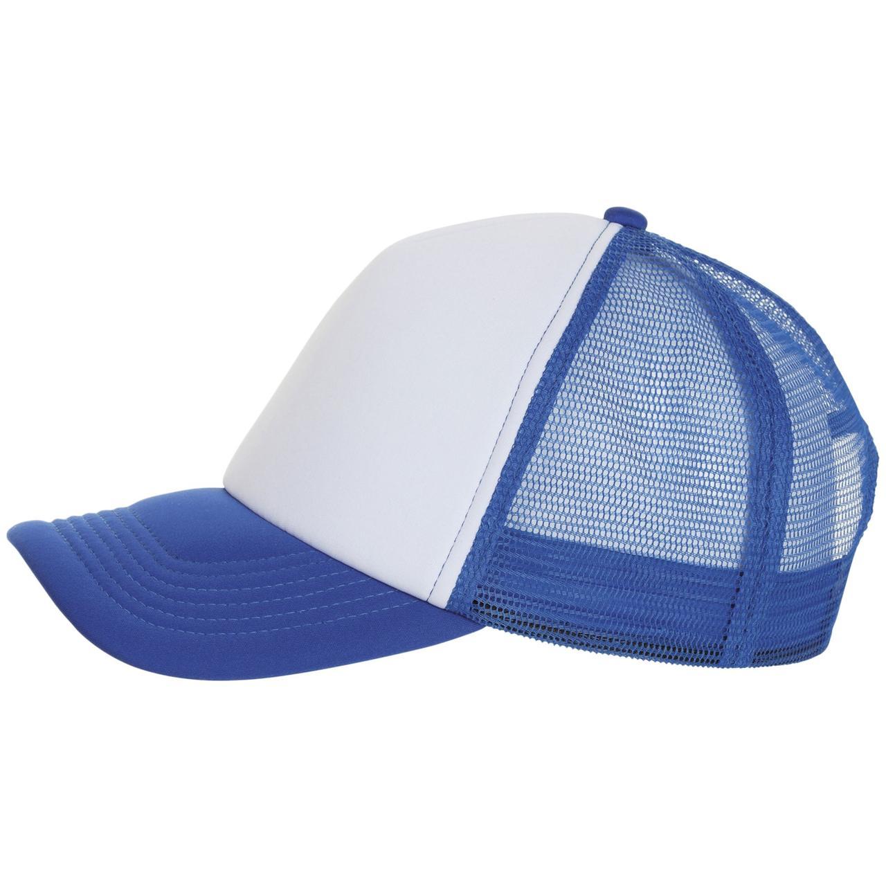 Бейсболка Bubble, синяя с белым (артикул 01668907TUN)