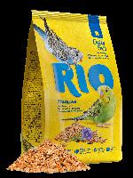 RIO Корм для волнистых попугайчиков, основной рацион, уп. 1кг.