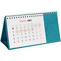 Календарь настольный Brand, бирюзовый (артикул 2808.49)