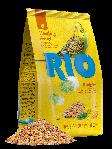 RIO Корм для волнистых попугайчиков, рацион в период линьки, уп. 500гр.