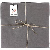 Скатерть Essential с пропиткой, прямоугольная, темно-серая (артикул 10651.10)