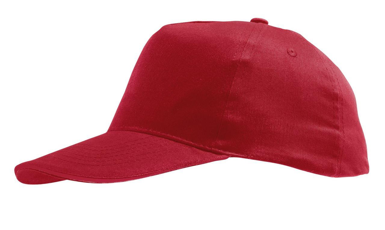Бейсболка Sunny, красная (артикул 5823.50)